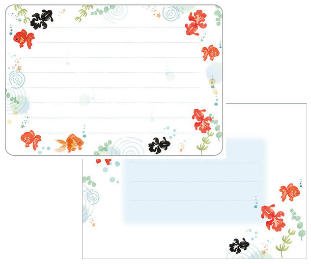 Frontia : Goldfish mini Letter Set!