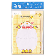 Large Memo pad Sample pack of 20 diff pages!!