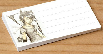 Dark Fairy - Pk of 20 Message Cards