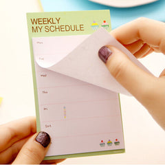 Weekly Planner + To-do list Sticky Memo Note Pads!