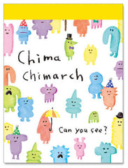 Mindwave : Chima Chimarch mini memo pad