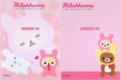 San-X : Rilakkuma Strawberry mini memo