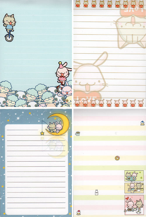 Cute Animals Memo Pad