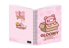 Adorable Gloomy Bear in a Box A5 Notebook