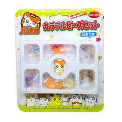 Hamtaro DIY Craft Kit - Adorable Phone Hanger / Zipper Mascot #1 - Vintage 2002!