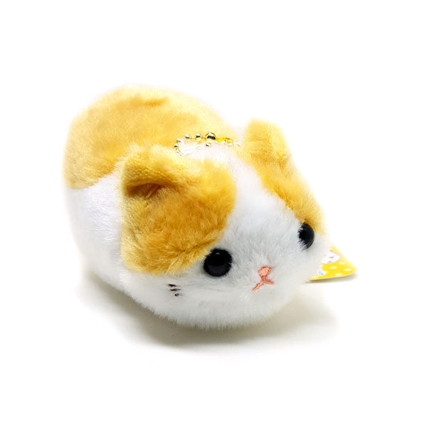Tsuchineko Light Brown & White Mini Plush 12cm Keyring / Bag Mascot!