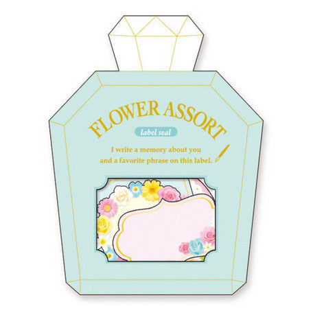 Mindwave : Flower Time Labels Sticker Sack!