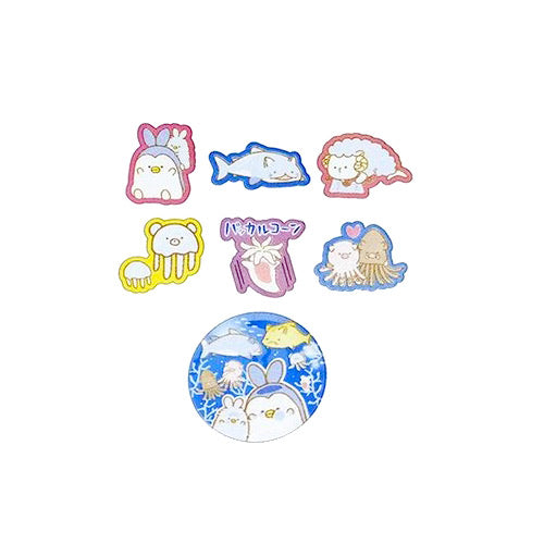 Kamio : Dream Aquarium Sticker Sack!