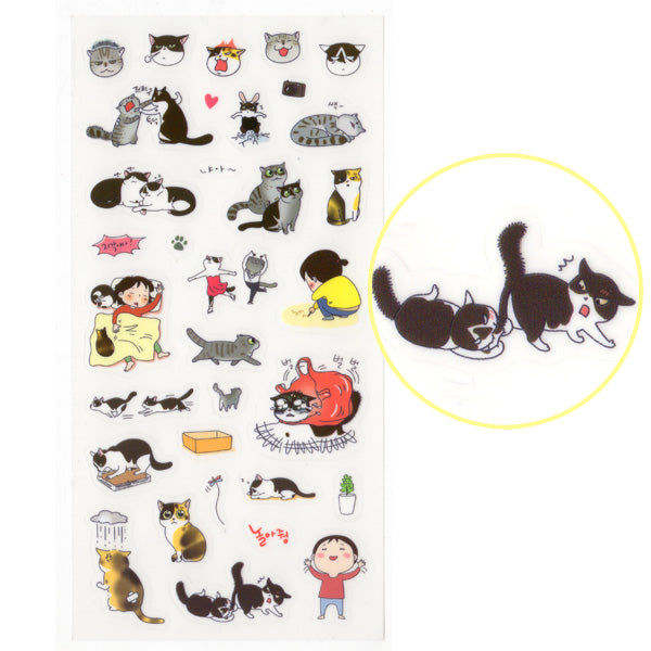 Cats Life sticker sheet #4