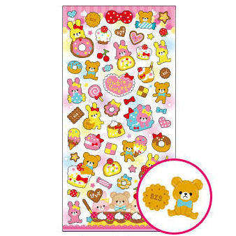 Mindwave : Cutie Sweets Puffy stickers!