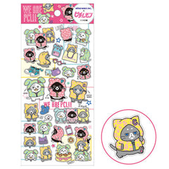 San-X : Mofutans Bunnies Sticker Sheet! Vintage 2014