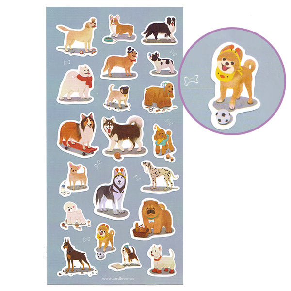Talented Dogs Stickers Sheet!