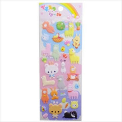 Steadfast : Fluffy Dream Animals Puffy Stickers!