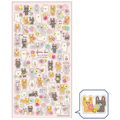 Mindwave : Flower Hour Bunnies Sticker Sheet!