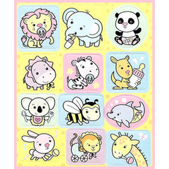Cute Baby Animals stickers sheet!