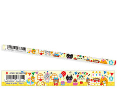Mind wave : Nyanko Party Wooden Pencil (B)