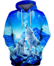 Load image into Gallery viewer, Blue White Wolf - Kiwo Shop
