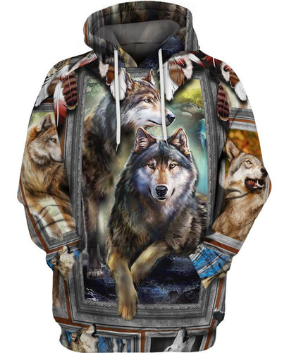 Native Wolf Flock - Kiwo Shop