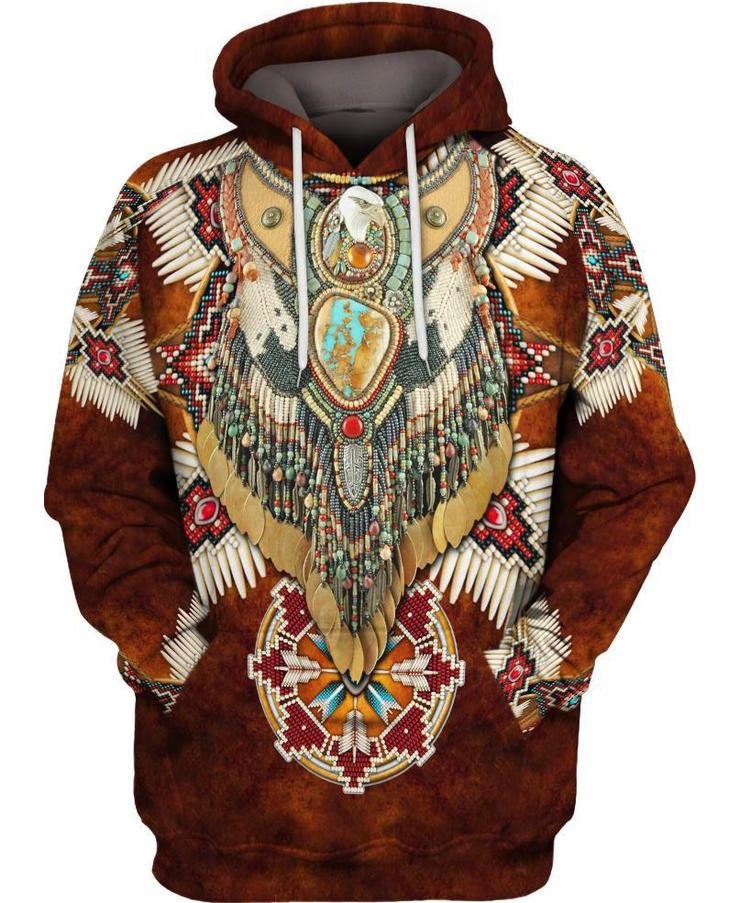 Native Motifs Brown - Kiwo Shop