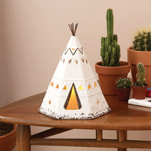 Load image into Gallery viewer, Teepee Lantern Plains First Nations Home Decor - Kiwo Shop
