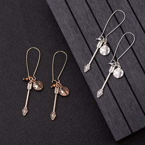 Amader Silver & Gold Earrings - Kiwo Shop