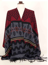 Load image into Gallery viewer, Brown Poncho (HANDMADE) - Kiwo Shop