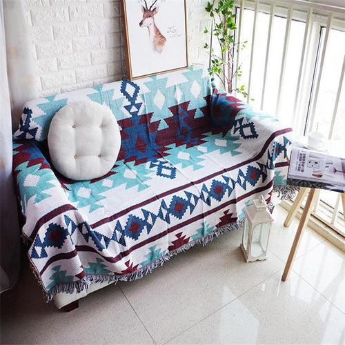 NATIVE ZIA SOFA THROW COVER - Kiwo Shop