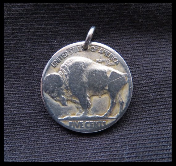 Buffalo Nickel Coin Pendant - Kiwo Shop
