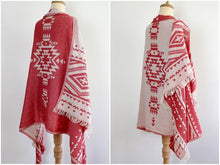 Load image into Gallery viewer, Handmade Navajo Poncho - Kiwo Shop