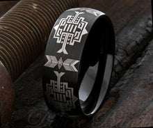 Load image into Gallery viewer, Tungsten Native American Ring - Kiwo Shop