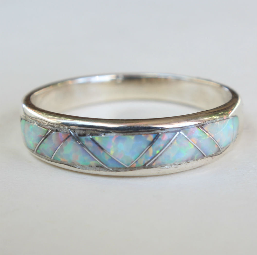Opal Inlay Ring - Kiwo Shop