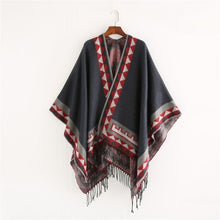 Load image into Gallery viewer, Native American Poncho (10 colors) - Kiwo Shop