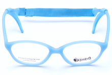 Load image into Gallery viewer, ZB1204 - Light Blue Zoobug 1 piece rubber with headstrap and earlocks