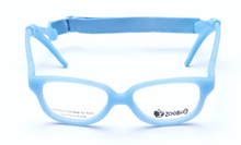 Load image into Gallery viewer, ZB1152 - Light Blue Zoobug 1 piece rubber with headstrap and earlocks