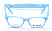 Load image into Gallery viewer, ZB1154 - Light Blue Zoobug 1 piece rubber with headstrap and earlocks