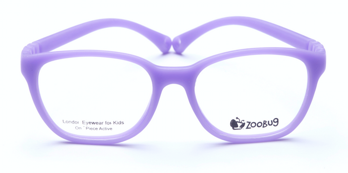 ZB1301 - Violet Zoobug 1 piece rubber with headstrap and earlocks