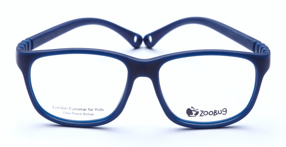 ZB1303 - Navy Zoobug 1 piece rubber with headstrap and earlocks