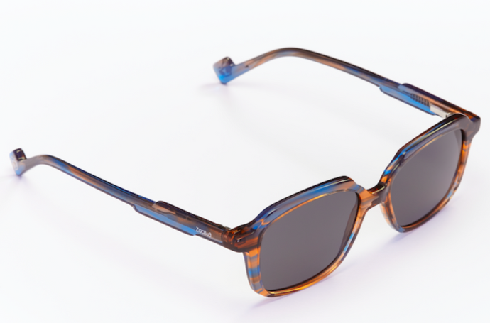 Lil' Boss - Brown/ Blue Havana • ZB21003