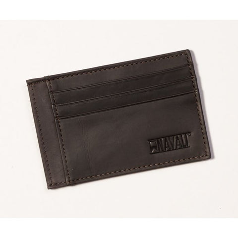 STEWARD CARD CASE - BROWN