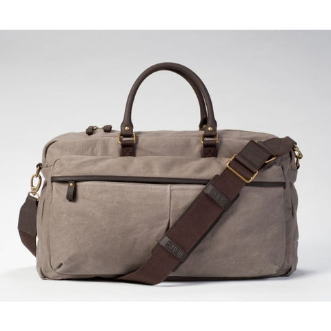 STOWAWAY WAXED CANVAS WEEKENDER