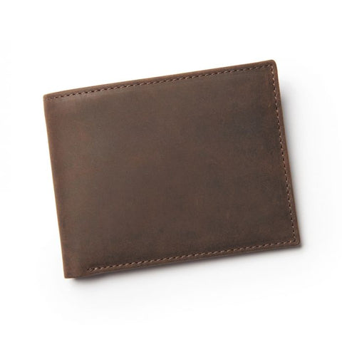STEWARD BIFOLD WALLET - BROWN