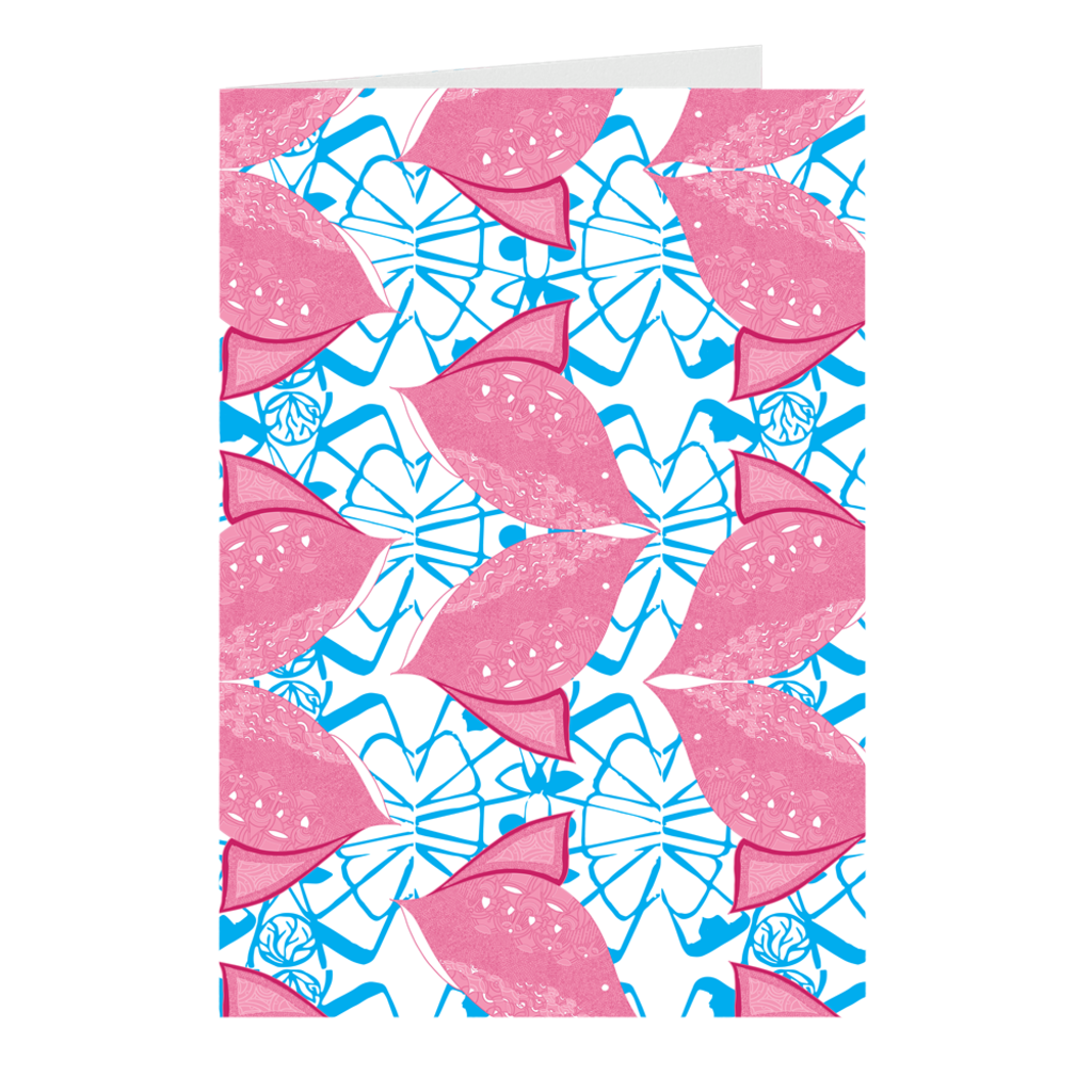 Fish - Siamese Pink Folded Cards