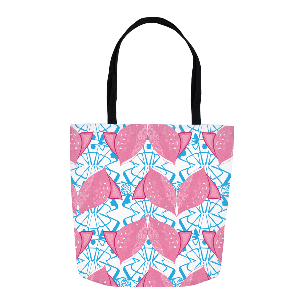 Tote in Fish (Siamese Pink)