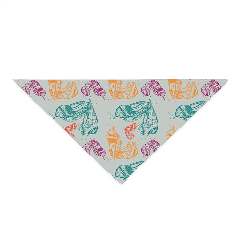 Bandana in Moth Wing (Mint Equinox)