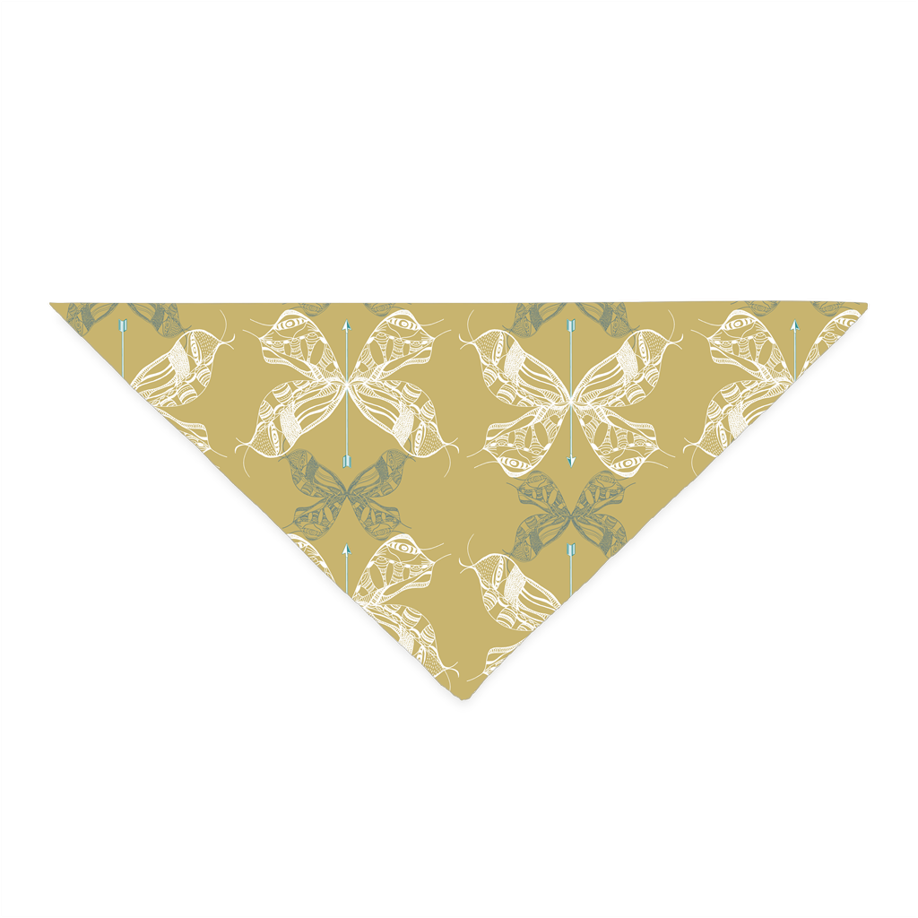 Bandana in Moth Wing (Old English)