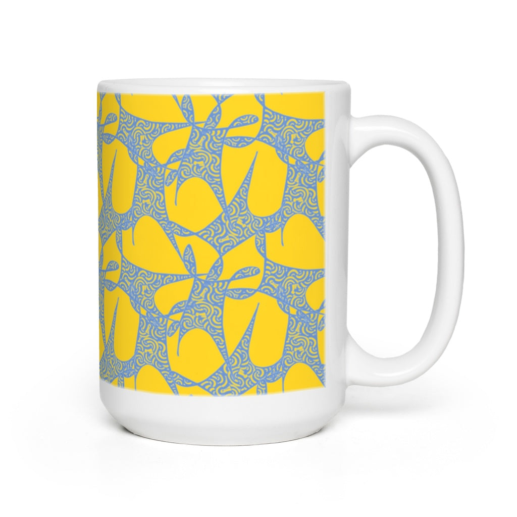 Mugs in Hypnosis (Cornflower Sun)
