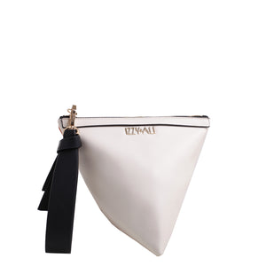 Izzy and Ali Vegan Leather Handbags - Triangle Clutch