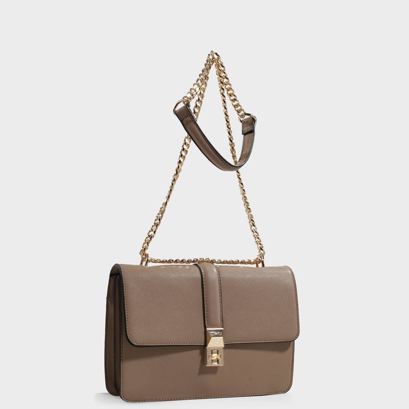 Izzy and Ali Vegan Leather Handbags - Amy Shoulder Interior