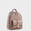 Izzy and Ali Vegan Leather Handbags - Amy Backpack in blush