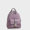 Izzy and Ali Vegan Leather Handbags - Amy Backpack in lilac